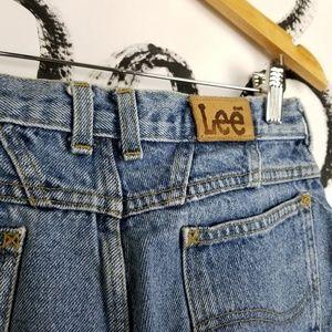"Lee Shorts - Vintage Lee Cut Off Denim Shorts High Waist 29"""